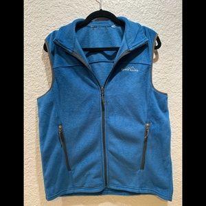 Eddie Bauer fleece vest Large